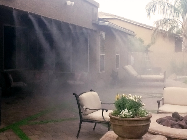 High Pressure Misting Systems Arizona Fog Wizards