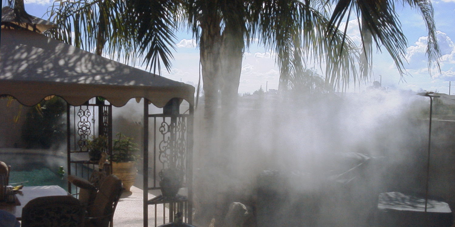 Outdoor Cooling Systems Arizona Fog Wizards