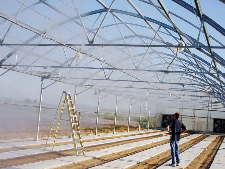 Greenhouse Misting System : Greenhouse misting system foggers arizona fog wizards